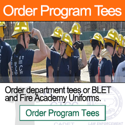 Order BLET, Fire Academy, Program Tees